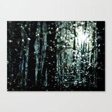 Blue Burns the Twilight Canvas Print