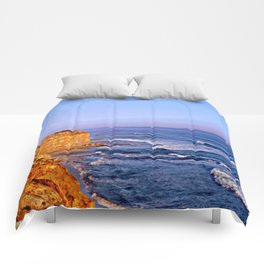Sunset over the Great Southern Ocean Comforters