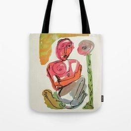 Happiness Naive Tote Bag