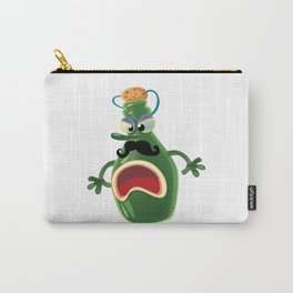 Angry wine bottle Carry-All Pouch
