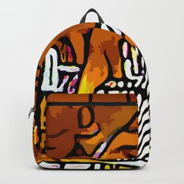 Kolage ~ Egyptian Gold ~ 2 Backpack