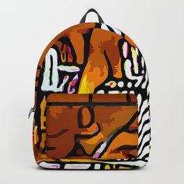 Kolage ~ Egyptian Gold ~ 2 Backpack