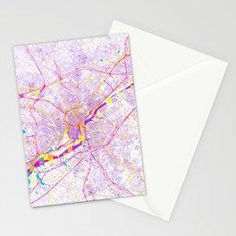 Philadelphia 's POP urban map Stationery Cards
