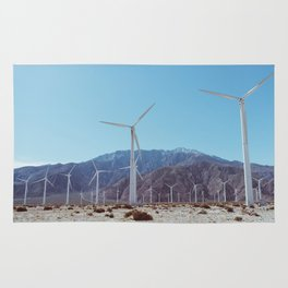Palm Springs Windmills XI Rug
