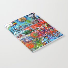 grafitti wall Notebook