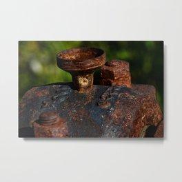 Rust - I Metal Print