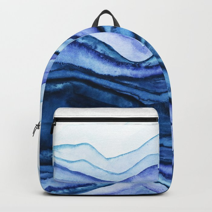 Washed Away Watercolor Backpack