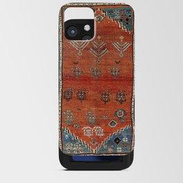 Bakhshaish Azerbaijan Northwest Persian Carpet Print iPhone Card Case