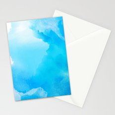 Cloud Blue Stationery Cards