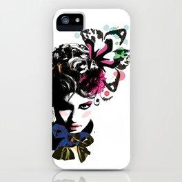 Fashion woman iPhone Case