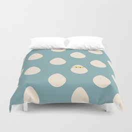 Eggos Duvet Cover