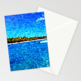 saona island Stationery Cards