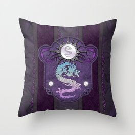 Beautiful chinese dragon Throw Pillow