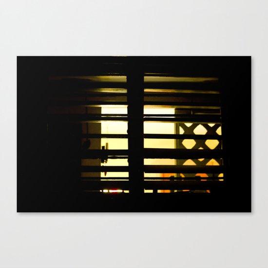 Blinds Canvas Print