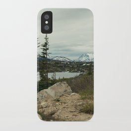Yukon Mountains iPhone Case