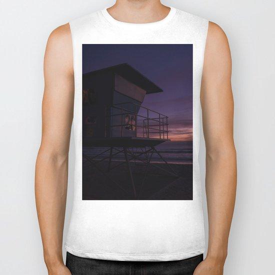 California Sunset Biker Tank
