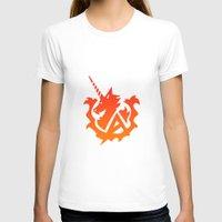 gundam T-shirts featuring Amuro Hi Nu Gundam Emblem by Nanico