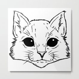 Aww Kitties Metal Print