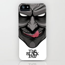 The Black Imp 02 iPhone Case