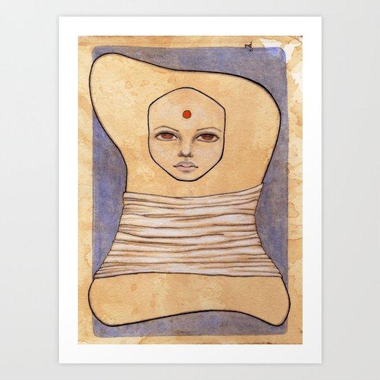 Secrets of Osiris I Art Print