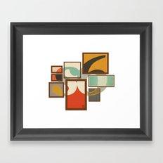 S6 Tee - Frames Framed Art Print