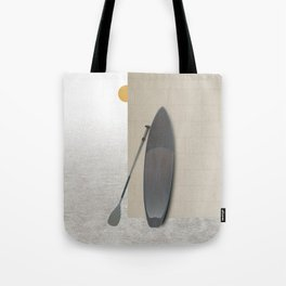 Surf Paddle Board Tote Bag
