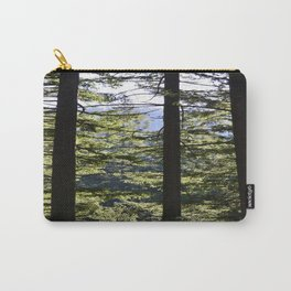 Illuminated forest Carry-All Pouch