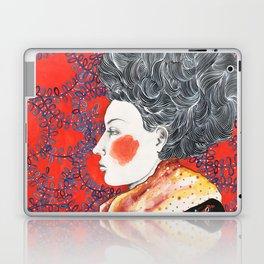 Red Face Laptop & iPad Skin