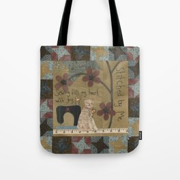 Stitched By Me Tote Bag
