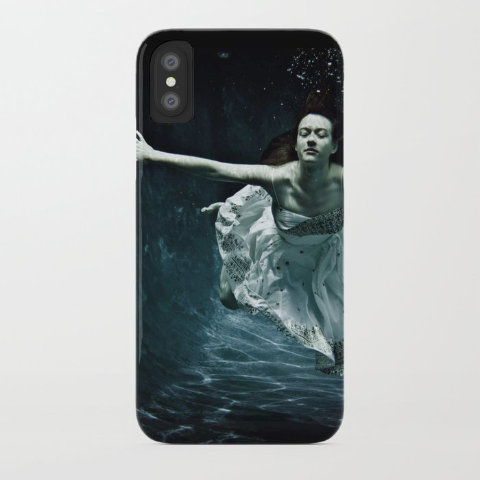 abyss of the disheartened : girl I iPhone Case