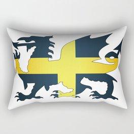 Welsh Dragon Saint David Flag Rectangular Pillow