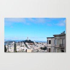 Let's live together Canvas Print