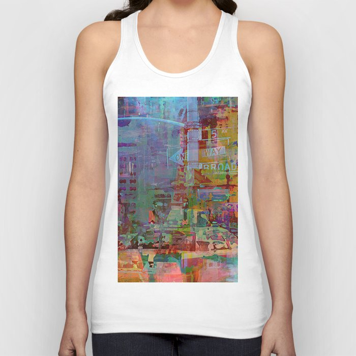 Somewhere in the city Unisex Tank Top