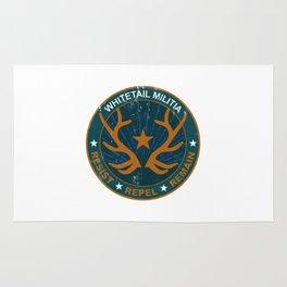 Whitetail Militia Rug