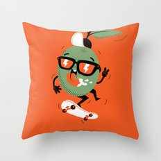 Olive Ollie Throw Pillow