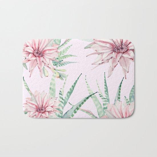 Cactus Pattern 2 Pink #society6 #buyart Bath Mat