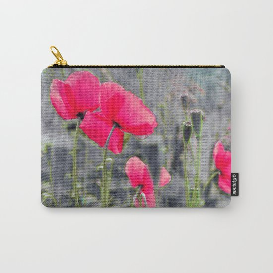 Poppies(mist)2. Carry-All Pouch