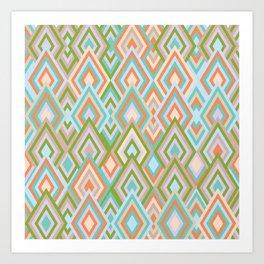 rhombus 3 Art Print