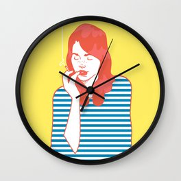 Stripes Wall Clock