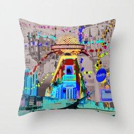 Buenos Aires Throw Pillow