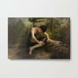 The Weight of Nature Metal Print