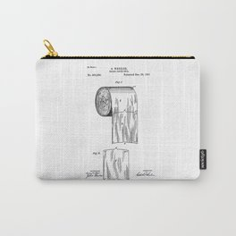 tolilet paper patent Carry-All Pouch
