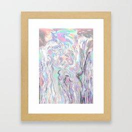 Iridiscent Framed Art Print
