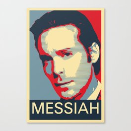 Baltar 'Messiah' design. Inspired by Battlestar Galactica. Canvas Print
