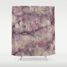 Mystic Marble Shower Curtain