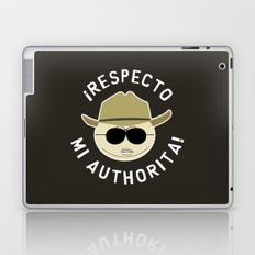 Respecto Mi Authorita! Laptop & iPad Skin