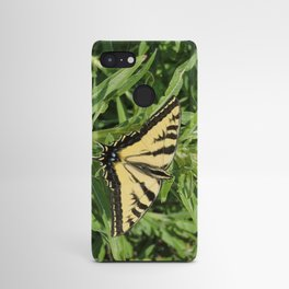 Swallowtail at Rest on Greenery Android Case