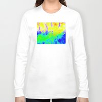 hippy Long Sleeve T-shirts featuring The Hippy Shake by Tanella