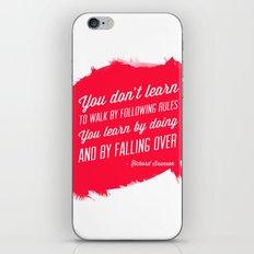 Richard Branson success quote iPhone & iPod Skin