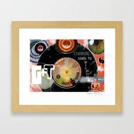 Buddha Boogie Framed Art Print
